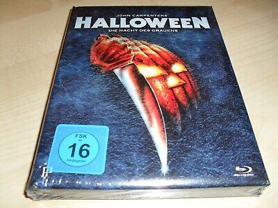 John Carpenter's Halloween (1978) / Mediabook 3-Disc Limited Edition / Softbook  ()