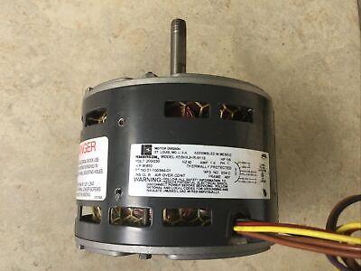Emerson Blower Motor K55hxjhr-9119hp 16 Rpm 850 Pn 51-100344-01