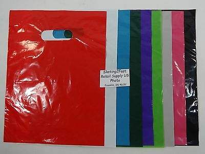 100 Qty. 12 X 15 Low Density Merchandise Bag Retail Shopping Bags