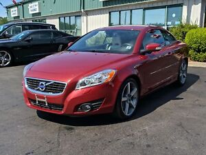 2011 Volvo C70 T5 LEATHER/BACK UP SENSOR/LEATHER/FULL HARD TO...