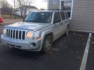 2008 Jeep Patriot for trade