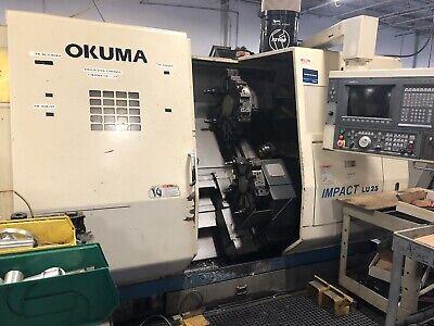 Okuma Lu -25 With Okuma Osp- U100l Control Cnc Lathe