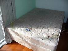 Simmons Orthopaedic Double Bed with base (on wheels). Blackburn Whitehorse Area Preview