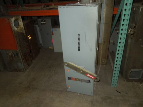 Square D I-line Pbq4660 Fusible Busplug 600amp 3ph 4w Used