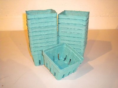 40 pcs.of Pint size Berry Basket Box--Paper Fiber Material--New Unused!