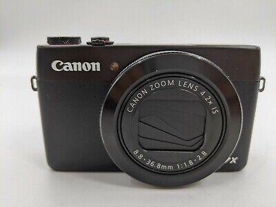 Good Canon PowerShot G7x Mark II 20.1MP Digital Camera WiFi Enabled -LH0346