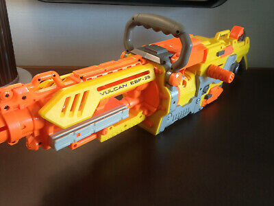 Nerf Vulcan EBF-25 Barely Used In Great Condition, Gun Only!!