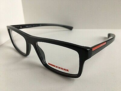 New PRADA Sport VPS 07C SMI-1O1 Rx  Blue 55mm Eyeglasses Frame Italy (New Prada Glasses)