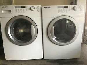 "SAMSUNG 27""w per working Stackable Washer/DRyer can DELIVER"