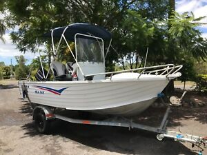 Sea Jay 4.4 Centre console boat