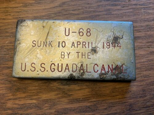 WWII U-68 Salvaged Ballasts Formed Into Souvenirs