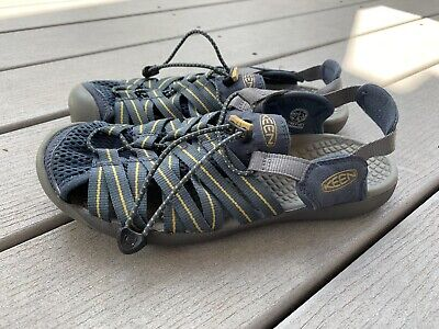 Keen Waterproof Sport Sandal Slate Blue Size 7 7M Womens EUC, used for sale  Shipping to India