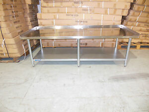 COMMERCIAL RESTAURANT S/S EQUIPMENT STAND 24 X 24 X 26 DIFFERENT SIZES AVAILABLE