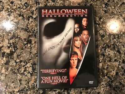 Terror Train Halloween (Halloween Resurrection Dvd! 2002 Cult Slasher! (see) Terror Train & The Fog)