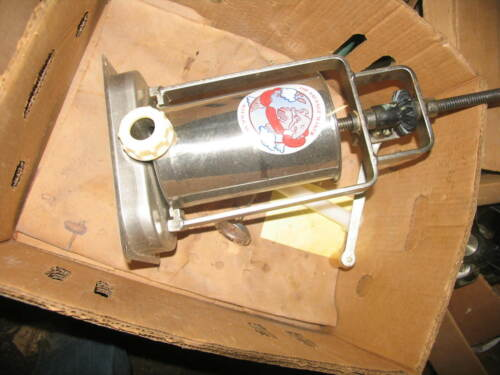 The Sausage Maker Buffalo, NY. Sausage stuffer Stainless Steel