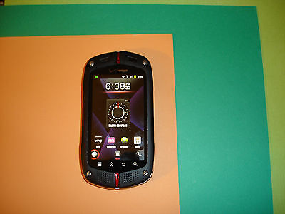 CLEAN ESN_Casio G'zOne Commando C771 - Black (Verizon) Smartphone