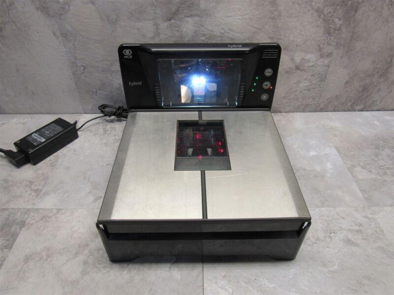 NCR Hybrid RealScan 74 POS Grocery Bi-Optic Scanner Scale 7874-5003 + PSU
