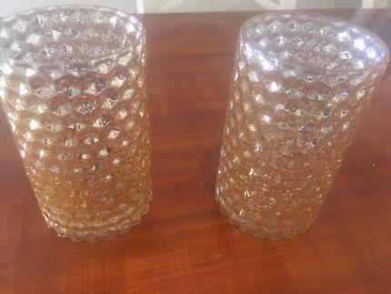 Large Gold Honeycomb Vase Vases Bowls Gumtree Australia