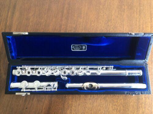 Wm S Haynes flute Gold lip plate Handmade Deveau model - Fully overhauled