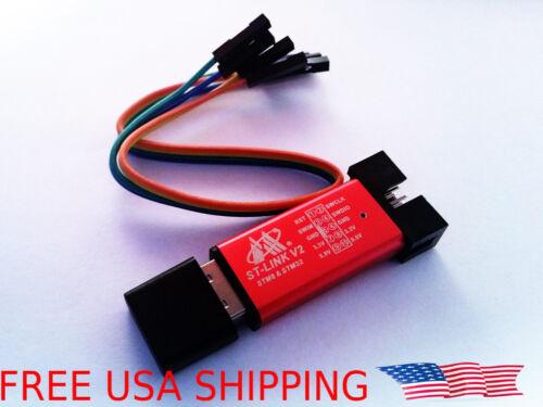 ST-Link V2 Mini STM8 STM32 STLINK Simulator Download Programming Unit USA SHIP