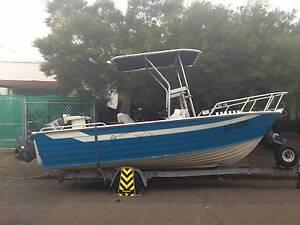Savage 5.2m Tinny Aluminium Boat Yamaha 90hp Marrickville Marrickville Area Preview