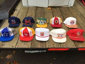 SnapBack sports hat collection rare vintage