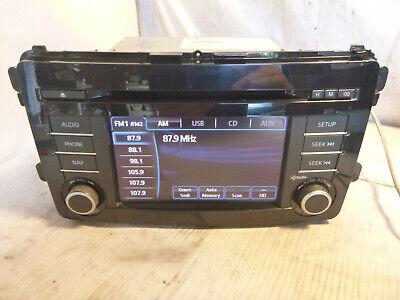 13 14 15 Mazda CX-9 CX9 Radio Cd Gps Navigation TK2166DV0B XRR37