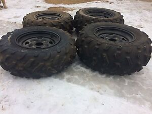 700 Grizzly ATV Tires and Rims