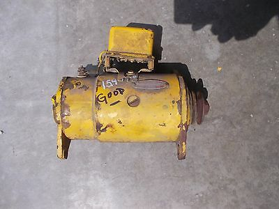 International 154 Cub Low Boy Tractor Working 12v Generator Belt Drive Pulley
