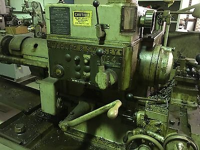 Warner Swasey No. 4 Turret Lathe Model M-2240 Plus Tooling