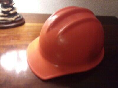 Vintage Ed Bullard Orange Hard Boiled Hard Hat