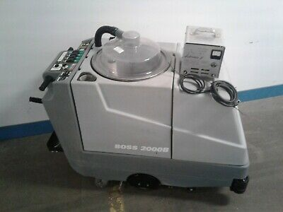 Boss 2000b Commercialindustrial Carpet Extractor-floor Machine. Only 27.4 Hrs