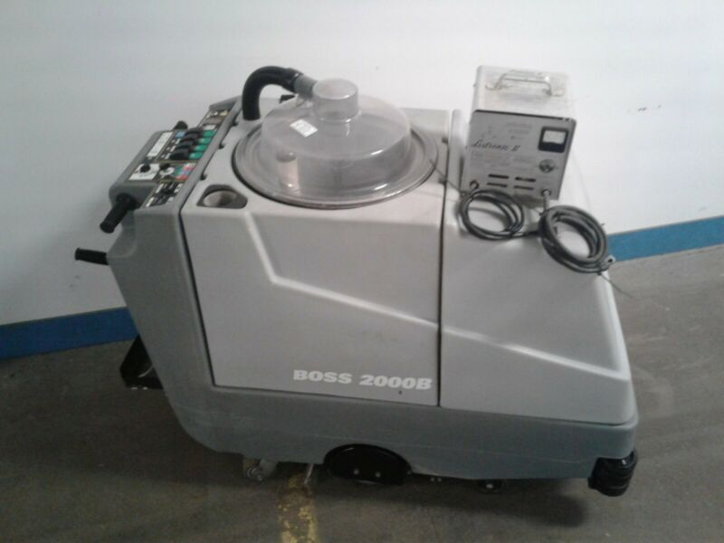BOSS 2000B Commercial/Industrial Carpet Extractor-Floor Machine. ONLY 27.4 hrs!