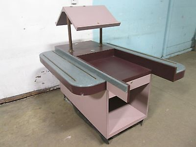 Heavy Duty Commercial 2 Lanes Restaurant Cafeteria Style Check-outpos Counter