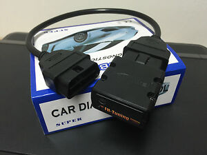 Chiptuning Box Ford Mondeo 2.G 2.5 ST200 151 kW / 205 PS Benzin OBD2 #50C9#