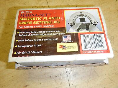 Usa Magna Set W1214 Wood Planer Plane Knife Setting Fixture Jig Magnetic