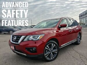 2018 Nissan Pathfinder Platinum Almost-New, Loaded w Every Fe...