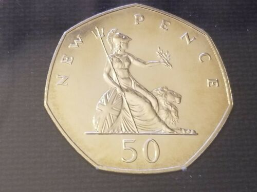 1971 Proof 50 Pence - England, Great Britain