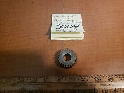 South Bend Lathe Heavy 10 Lead Screw Drive Gear. 625idx1.62od 16dp