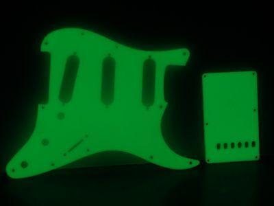 Glow in the Dark pickguard set fits Fender Strat Stratocaster