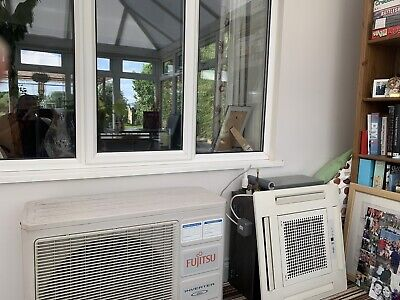 Fujitsu air conditioning unit 5.4 kw 600x600 Ceiling Cassette.  Fully Working.