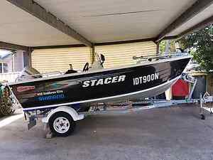 STACER 449 SEAHORSE ELITE FISHING BOAT Mirrabooka Lake Macquarie Area Preview