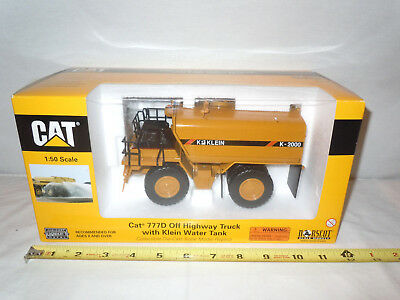 Caterpillar 777D Off Highway Truck W/ Klein Water Tank By Norscot 1/50th Scale