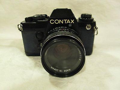 Contax 139 Quartz Film Camera With Yashica DSB 50mm 1:1.9 Lens