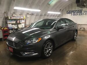 2017 Ford Fusion SE*Leather**Pay $131 Bi-Weekly ZERO Down!