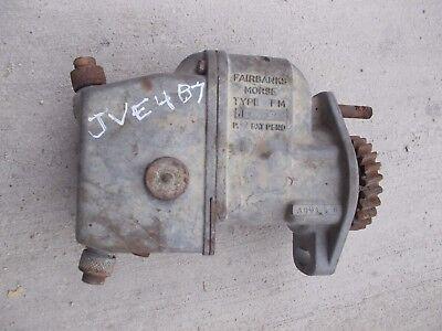John Deere Ih Allis Chalmers Tractor Fairbanks Morse Model Fm Jve4b7 Magneto