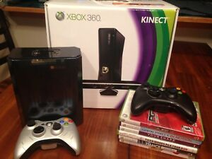 Xbox 360 Kinect and Games Package