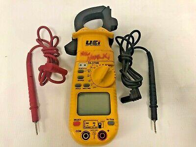 Uei Dl379b Digital Hvac Clamp Amp Meter Multimeter With Leads