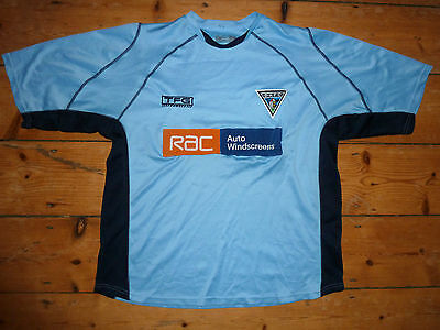 size:L DUNFERMLINE ATHLETIC FC FOOTBALL SHIRT PARS away SOCCER SHIRT 2003-4 image