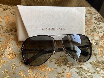 MICHAEL KORS MK5004 CHELSEA 101311 Gunmetal/Gray Gradient Pilot Sunglasses 59mm